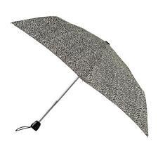Totes Auto Abrir/cerrar delgado pequeña sección paraguas Leopardo (3)