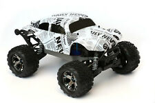 Custom Buggy Body Newspaper Style for Traxxas Stampede 1/10 Truck Car Shell 1:10
