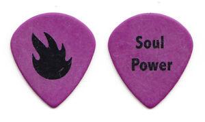 Audioslave Tom Morello Soul Power Purple Guitar Pick - 2005 Out Of Exile Tour