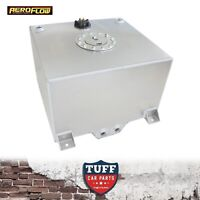 Aeroflow 57L 15Gal Aluminium Baffled Fuel Cell with Sump & Sender AF85-2150AS