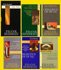 DUNE Series Original Paperback Collection Books 1-6 by Frank Herbert - BRAND NEW