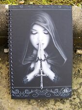 49272  CAHIER   BLOC NOTE  PRIERE GOTHIC  HEROIC FANTASY COLLECTION ANNE  30%