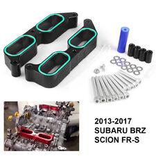For 2013-2017 Subaru BRZ Scion FR-S Power Block Intake Manifold Spacers Black