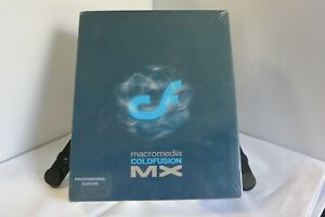 Macromedia Coldfusion MX Professional Edition Install Software CPD060D100 SEALED