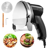 Kebab Cutter Meat Slicer Vevor Commercial Electric Kebab Slicer Gyros Knife