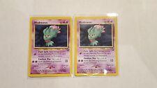 Misdreavus Pokemon Promo card  LV.23 Black Star Promo x 2