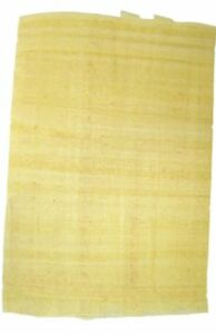 5 Sheets Egyptian Plain PAPYRUS PAPER - Blank-Genuine- Art/craft/history