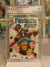 Fantastic Four #253! PGX (Like CGC SS) 9.4! Signed by Byrne! SEE PICS AND SCANS!