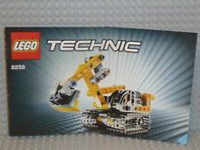 LEGO® Technic Bauanleitung 8259 Mini Bulldozer ungelocht instruction B3773
