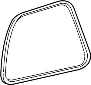 NEW OEM Ford Rear Quarter Glass Seal Right XF2Z1629904AA Windstar Freestar 99-07