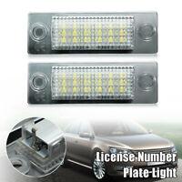 2PCS LED LUCI TARGA LAMPADINE PER VW TRANSPORTER T5 CADDY TOURAN GOLF PASSAT