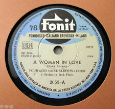 Nice Price: The Four Aces - A Woman In Love / Of This I'm Sure FONIT (439)