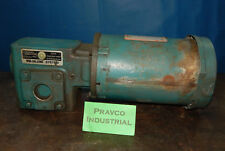 Reliance P56h1440s Sp 1 12hp15hp Motor With Gearbox