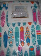 Coastal Couture 3 Pce Queen Or King Surfers Paradise Quilt & Shams Set Ni 00006000 P