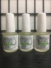 Lot 3 Three Gelish Nourish Cuticle Oil 15 ml .5 fl oz