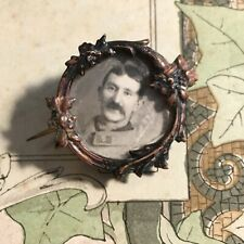 Broche Ancienne Porte Photo 1900 Militaire - Antique French Brooch
