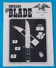 The American Blade Flyer Volume Ii #4! Rhett Stidham Estate
