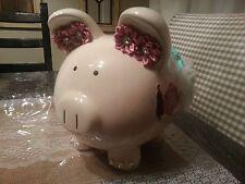 Unique Disney Princess Anna Precious Large Piggy Bank Hand Embellished