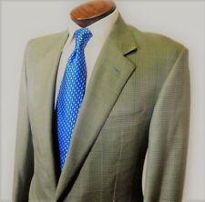$2495 Mint! Ermenegilda Zegna Lt Blue Gray Green Silk Wool Sport Coat 39 03011