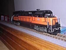 Brass Alco Models #D-113 Milwaukee G.E. U-25B Diesel Loco #5000 Custom Painted