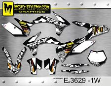 KTM SX SXf 125 250 450 525 2011 2012 graphics decals kit Moto-StyleMX stickers