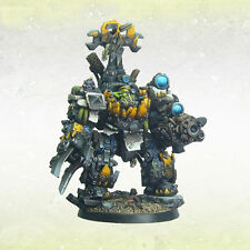 Orc Mech-Boss in Custom Mechanical Armour Kromlech Resin krm073