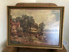 Reproduction Painting 'Hay Wain' by John Constable