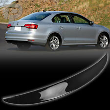 CARBON FIBER VOLKSWAGEN VW JETTA MK6 SEDAN BOOT TRUNK SPOILER PERFORMANCE 2014 ▼