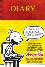 Diary of a Wimpy Kid Blank Journal, Hardcover by Kinney, Jeff, Brand New, Fre...