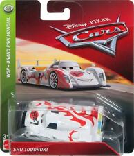 Disney Pixar World Of Cars Shu Todoroki  Wgp Racer Theme Diecast Mattel 2018