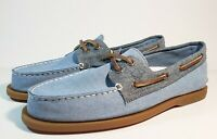 SPERRY Men's Sperry, Authentic Original 2 Eye Chambray Boat Shoe size 8