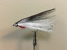 MAB Lures Flies Streamer Tandem Custom White Fish (Trout,Bass,Walleye)