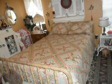 Lovely 4Pc Quilt Set ~ Full To Queen Reversible Quilt & Two Matching Pillow Sham