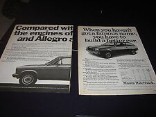 Mazda 1300DL VW Polo, Vauxhall Chevette, Ford Fiesta Fiat 128 Austin Allegro