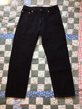 Vintage Levi's 505 Made in USA black tag size 36 x 30 measure 34 x 29