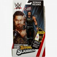 TALKING ROMAN REIGNS WWE SOUND SLAMMERS SERIES 1 ACTION FIGURE 20+ SOUNDS