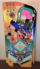 2001 Stern Monopoly Pinball Playfield NOS