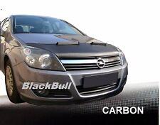 Haubenbra Opel Astra H Car Bra Steinschlagschutz Tuning & Styling CARBON