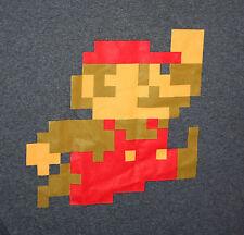 Nintendo Mario Brothers Video Game Character 2014 Grey T-Shirt  New Men's XXL