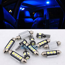 Blue 14 Interior LED Lights kit For Mercedes Benz W164 M-Class ML 2006-2011