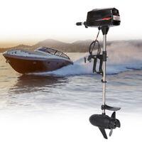 Hangkai Outboard Engine Rubber Boat Brushless Motor Tiller Control Propeller