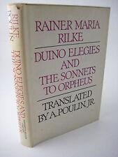 1st Edition DUINO ELEGIES & SONNETS ORPHEUS Rainer Maria Rilke POEMS Poetry RARE