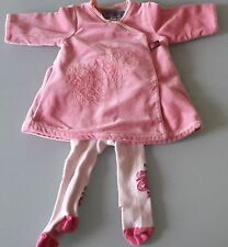 2eca558793304 Splendide robe KENZO et collants KENZO bébé fille naissance 0 mois 50cm TBE