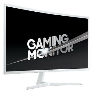 "Samsung 31.5"" 144Hz 4ms Full HD LED Gaming Monitor - Weiß (LC32JG53FDUXEN)"