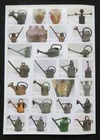 Catalogue vente enchères 2009 AU JARDIN Arrosoir Herbier Botanique watering can