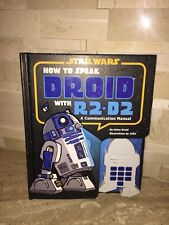 STAR WARS HOW TO SPEAK DROID WITH R2-D2 BOOK