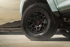 Toyota 4runner 1984 2021 Trd Pro New Style 17 Black Alloy Rims Set Oem New
