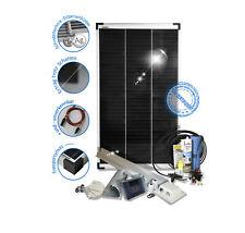 100Watt 12Volt Solar Set Solaranlage für Garten Camping Wohnmobil + viel Zubehör