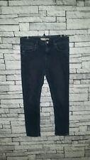 Size UK 10 12 W30 L30 Topshop Moto Denim Dark Blue New Baxter Slim Skinny Jeans
