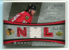 ROOKIE to NOW MARTIN HAVLAT INSERTS, PARALLEL'S & SHORT-PRINT  - PICK SINGLES